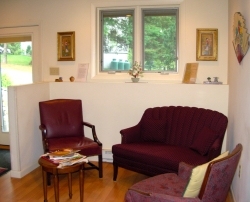 Acupuncture of Andover, MA   Patient Waiting Area
